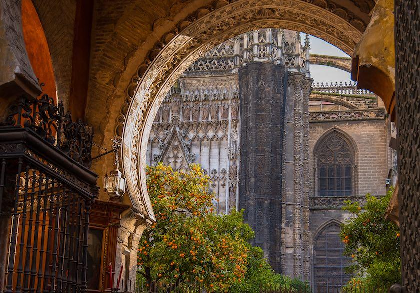 cattedrale di siviglia esterno