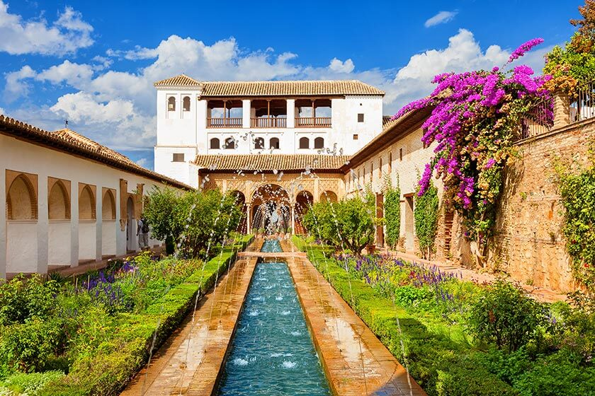 Giardini Generalife Alhambra